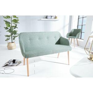 LuxD Dizajnová lavice Sweden limetková