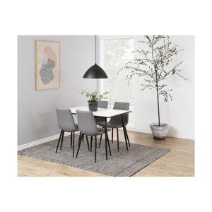 Dkton Jídelní stůl Nayeli 120 cm bílý