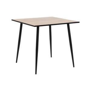 Dkton Jídelní stůl Nayeli 80 cm divoký dub