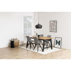 Dkton Jídelní stůl rozkládací Neel 220/310 cm divoký dub