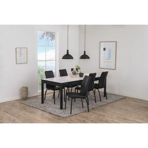 Dkton Jídelní stůl rozkládací Nico 215/315 cm bílý