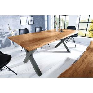 LuxD Jídelní stůl Massive X Honey 180 cm - tloušťka 35 mm - akácie