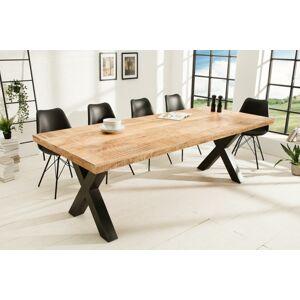 LuxD Jídelní stůl Thunder X II 240 cm mango