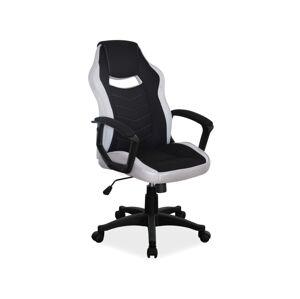 Kancelářská židle CAMARO černá/šedá