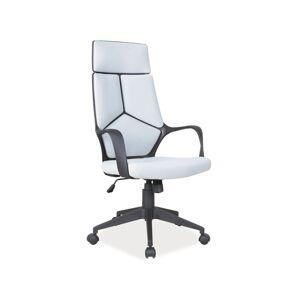 Kancelářská židle Q-199 šedá/ černý rám