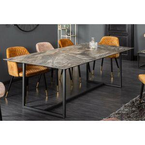 LuxD Keramický jídelní stůl Kody 200 cm mramor taupe