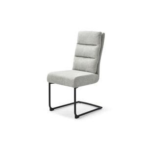 LuxD Konzolová židle Frank světlešedá