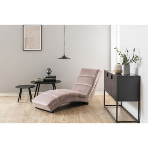 Dkton Luxusní relaxační křeslo Nana světle růžové - II. třída