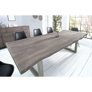LuxD Luxusní jídelní stůl z masivu Massive 200 cm / akácie -sivá