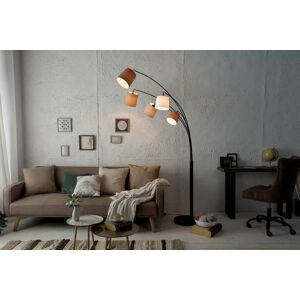 LuxD 20557 Designová oblouková stojanová lampa Shadow II