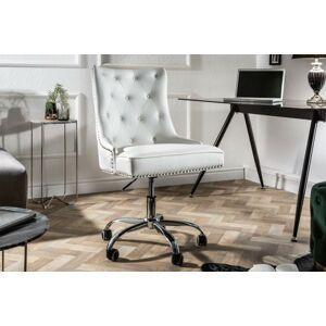 LuxD Kancelářská židle Jett bílá