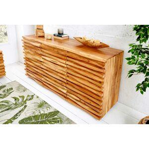 LuxD Designová komoda Lorenzo, 160 cm, akácie