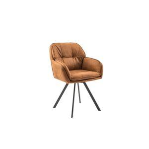 LuxD Designová židle Joe, hnědá
