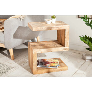 LuxD Designový odkládací stolek Ari S 60 cm Mango
