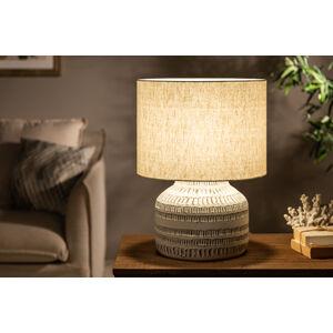LuxD 25034 Stolní lampa Dylan I 47 cm béžová