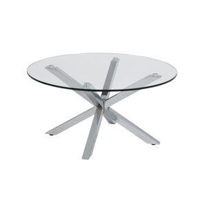 Dkton Moderní konferenční stolek Ajamu chromová