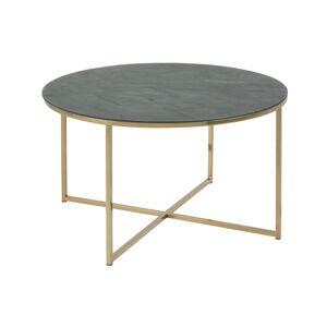 Dkton Kulatý konferenční stolek Agostino zelená