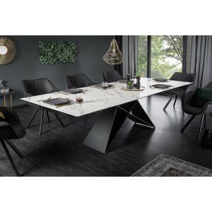 LuxD Rozkládací jídelní stůl Brock mramor 180-260 cm