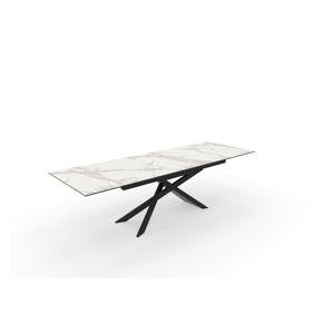 LuxD Roztahovací keramický stůl Callen 180-220-260 cm beton