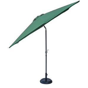 Rojaplast Slunečník NAKLÁPĚCÍ 300cm - zelená