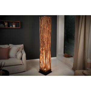 LuxD 24931 Stylová stojanová lampa Artist 175 cm longan