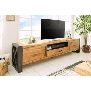 LuxD TV stolek Thunder 200cm divoký dub