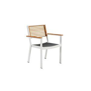 Higold Zahradní jídelní židle HIGOLD - York Dining Arm Chair White/Black