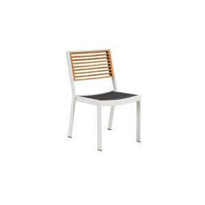 Higold Zahradní jídelní židle HIGOLD - York Dining Chair White/Black