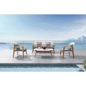 Higold Zahradní sestava HIGOLD - Sheldon Lounge White Olefin